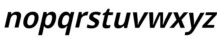 Passageway Light Italic Font LOWERCASE