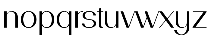PassionSansPDae-Book Font LOWERCASE