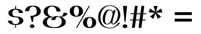 PassionSansPDai-SemiBold Font OTHER CHARS