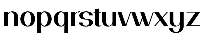 PassionSansPDai-SemiBold Font LOWERCASE