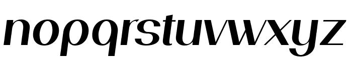 PassionSansPDaj-SemiBoldItalic Font LOWERCASE