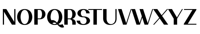 PassionSansPDak-Bold Font UPPERCASE