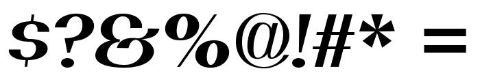 PassionSansPDal-BoldItalic Font OTHER CHARS