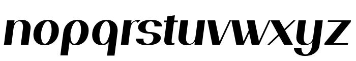 PassionSansPDal-BoldItalic Font LOWERCASE