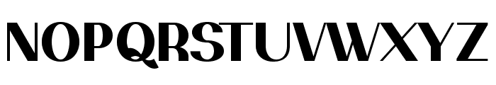 PassionSansPDam-Heavy Font UPPERCASE