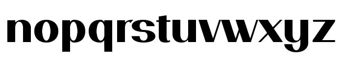 PassionSansPDam-Heavy Font LOWERCASE