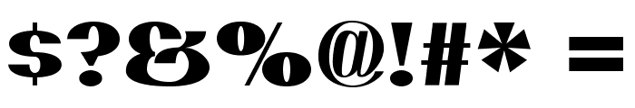 PassionSansPDaq-Black Font OTHER CHARS
