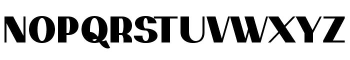PassionSansPDaq-Black Font UPPERCASE