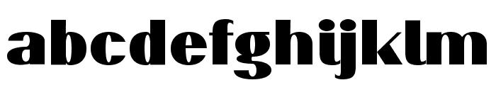 PassionSansPDaq-Black Font LOWERCASE