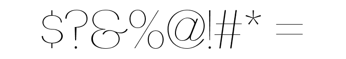 PassionSansPDba-HairlineSmallCaps Font OTHER CHARS