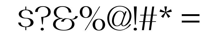 PassionSansPDbe-BookSmallCaps Font OTHER CHARS