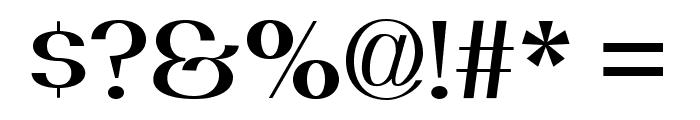 PassionSansPDbi-SemiBoldSmallCaps Font OTHER CHARS