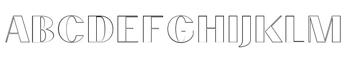 PassionSansPDcd-AccentOuter Font LOWERCASE