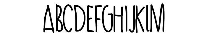 PassionTea Font LOWERCASE