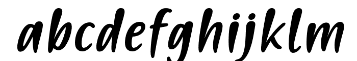 PassiontoActionSlant Font LOWERCASE