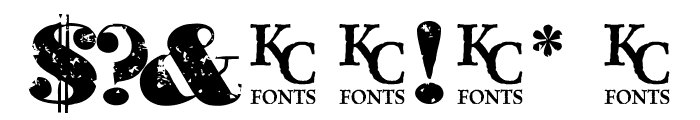 PastDue Font OTHER CHARS