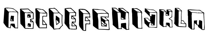 Pastas Black Font UPPERCASE