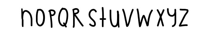 PastelSkies Font LOWERCASE