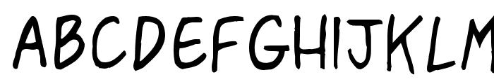 Pasteris Font LOWERCASE