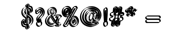 Pastohombre Regular Font OTHER CHARS