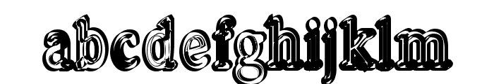 Pastohombre Regular Font LOWERCASE