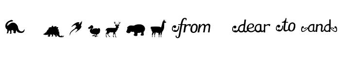 PatagoniaPatagonian Titles Font LOWERCASE