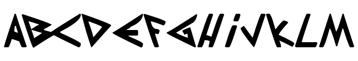 Patapon Font UPPERCASE