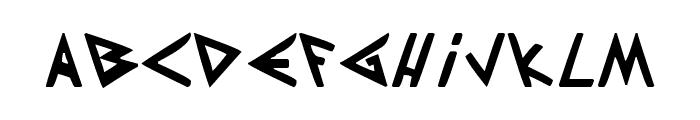 Patapon Font LOWERCASE