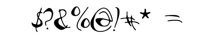 PataquesBrush Font OTHER CHARS