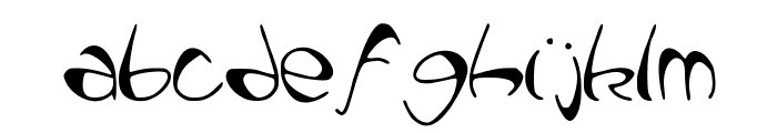 PataquesBrush Font LOWERCASE