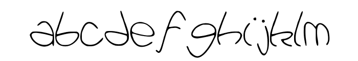 Pataques Font LOWERCASE