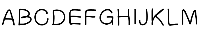 PatchsFont Font UPPERCASE