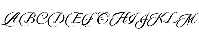 Pateglamt Script demo version Font UPPERCASE