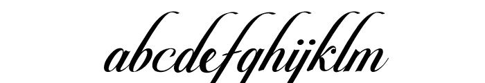 Pateglamt Script demo version Font LOWERCASE