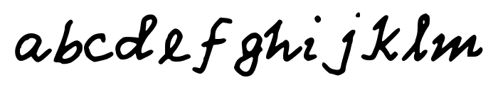 Pathas Font LOWERCASE