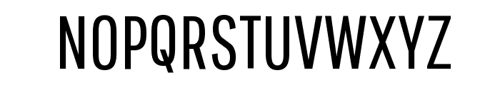 Pathway Gothic One Regular Font UPPERCASE