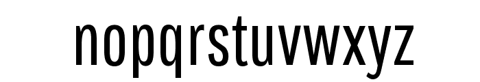 Pathway Gothic One Regular Font LOWERCASE