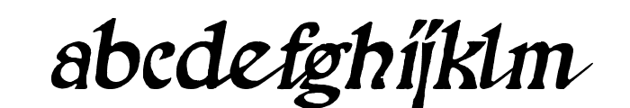 Pathway Font LOWERCASE