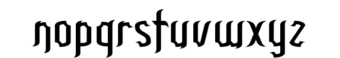 Patinio Gothic Demo Font LOWERCASE