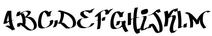 Patinio Graffiti Font LOWERCASE