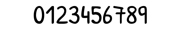 Patrick Hand Regular Font OTHER CHARS