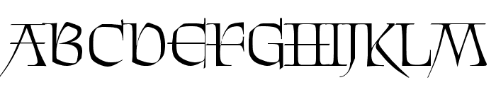 Patrick Regular Font UPPERCASE