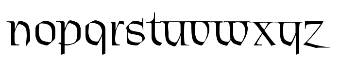 Patrick Regular Font LOWERCASE