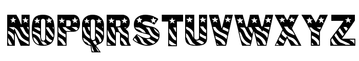 Patriot Font UPPERCASE