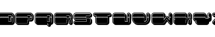 Patriotic Filled Regular Font UPPERCASE