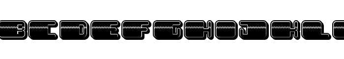 Patriotic Filled Regular Font LOWERCASE