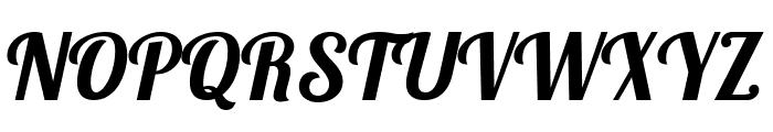 Pattaya Regular Font UPPERCASE
