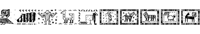 PatternArt Font OTHER CHARS