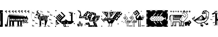 PatternArt Font UPPERCASE
