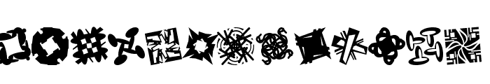 Patternalia Font LOWERCASE